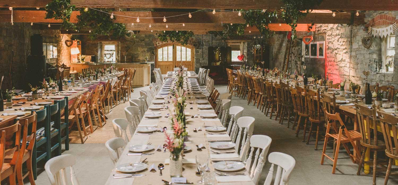 Durhamstown Castle Wedding Venue Barn