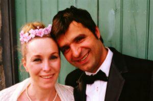 Durhamstown Castle wedding couple Layla & Torsten
