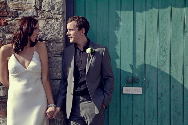 Durhamstown Castle wedding couple