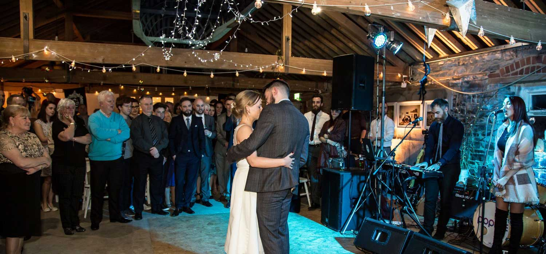 Durhamstown Castle Wedding Venue Dance